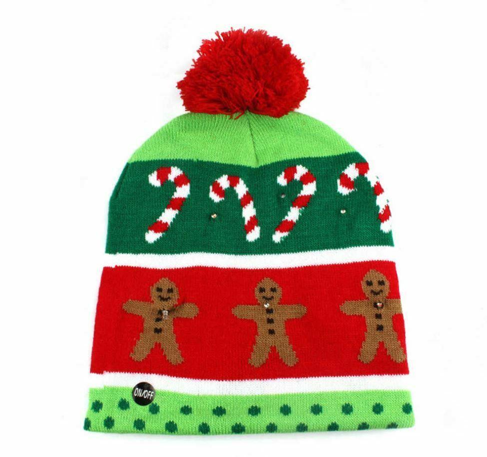 Comprar gorros de lana navideños gorro de Navidad gorros de papa noel gorros con temática navideña