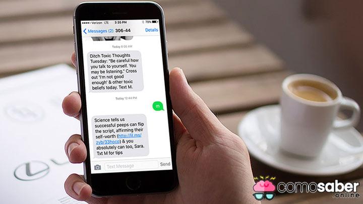 como saber si alguien ha leído un sms